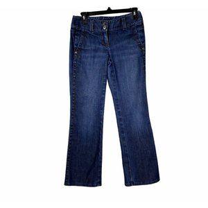 Ann Taylor Modern Fit Lindsay Waist Jeans 0P